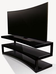 norstone esse curve meubles tv vid o son vid. Black Bedroom Furniture Sets. Home Design Ideas