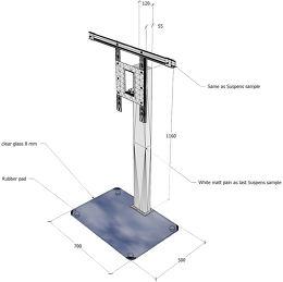 NorStone Suspens Plus Vue schéma dimensions