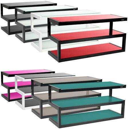 Le meuble TV-Vidéo NorStone Esse est disponible dans une large gamme de couleurs