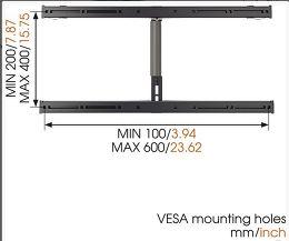 Vogel's Thin RC-355 Vue de détail 3