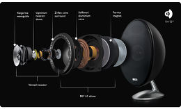 KEF E305 Vue technologie 1