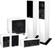 Highland Audio Dilis 5.1 Blanc laqué