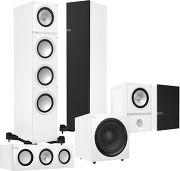 KEF Q500 System 5.1 Blanc