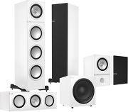 KEF Q700 System 5.1 Blanc