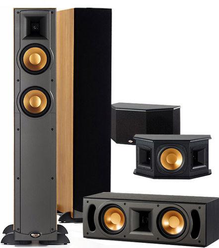 klipsch rf25 system packs d 39 enceintes grand son vid. Black Bedroom Furniture Sets. Home Design Ideas