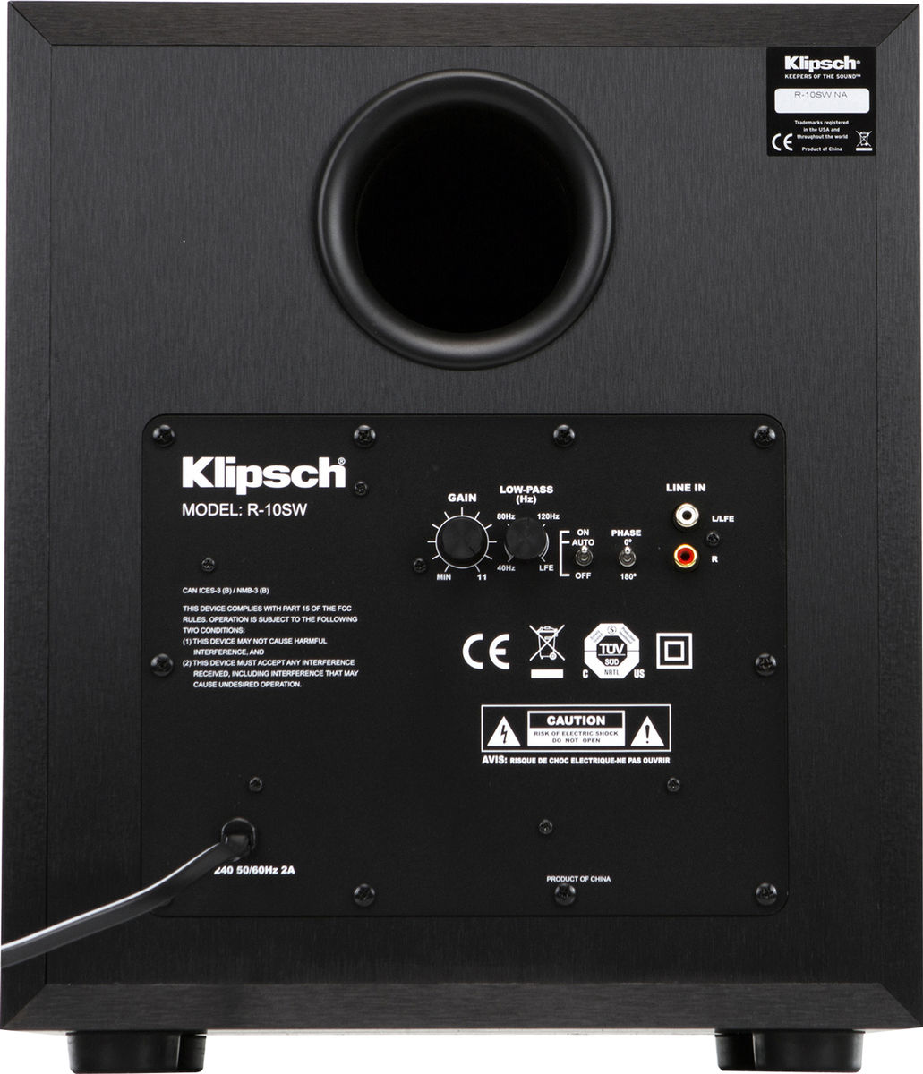 Klipsch Quintet 5 1 R10 Packs D Enceintes Compactes # Support Mural Pour Enceinte Centrale Pioneer