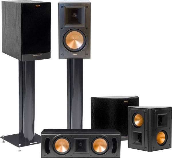 klipsch rb 51 mkii system packs d 39 enceintes son vid. Black Bedroom Furniture Sets. Home Design Ideas