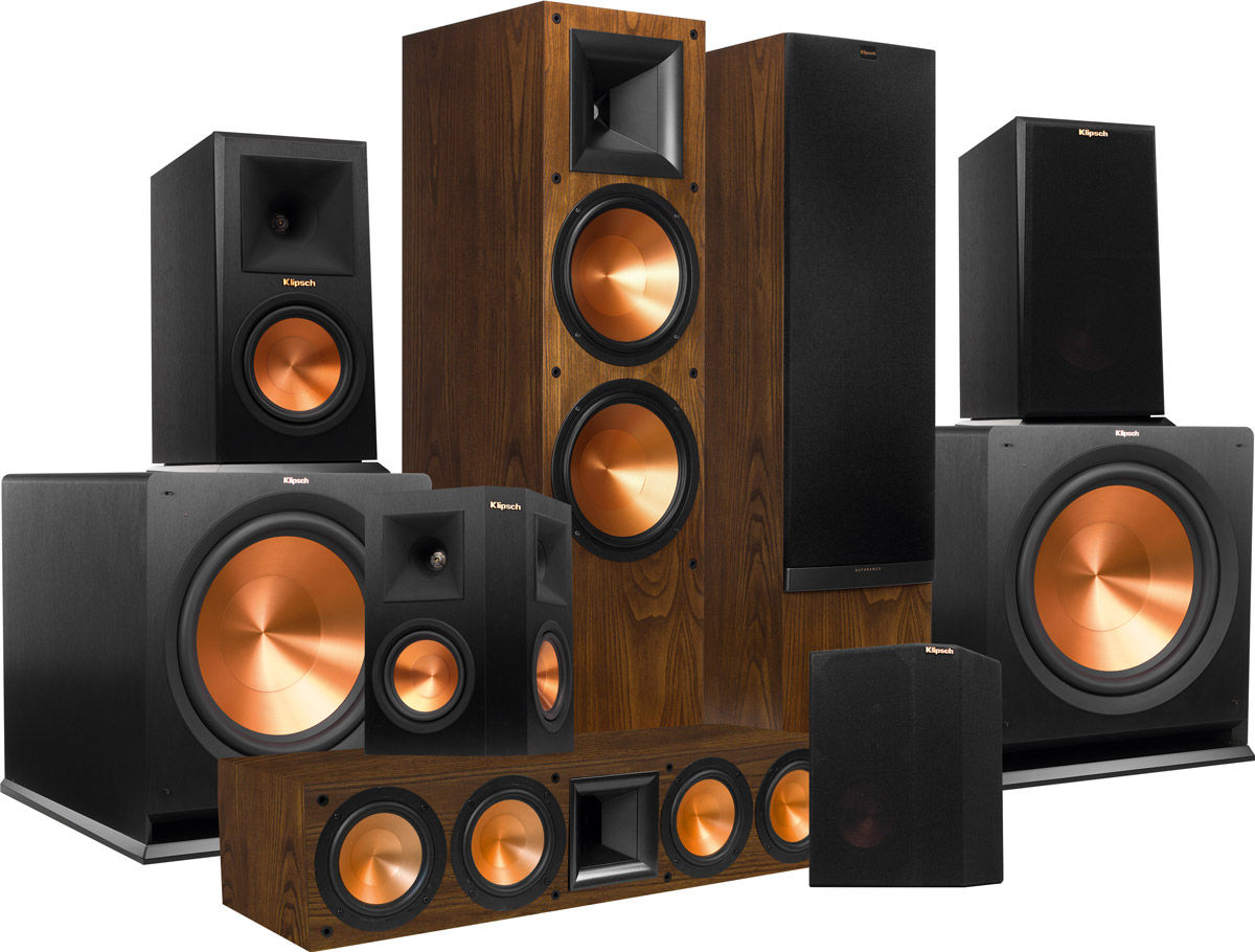 klipsch rf 7 mkii system 7 2 packs d 39 enceintes son. Black Bedroom Furniture Sets. Home Design Ideas