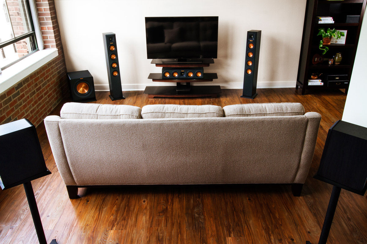 klipsch rp 440wf theater 7 2 hd control center. Black Bedroom Furniture Sets. Home Design Ideas