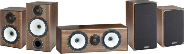 Monitor Audio Bronze BX2 System Vue principale