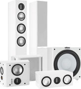 Monitor Audio Gold 200 Pack 5.1 Blanc laqué