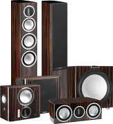 Monitor Audio Gold 200 Pack 5.1 Ebony laqué