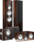 Monitor Audio Gold 300 Pack Ebony laqué