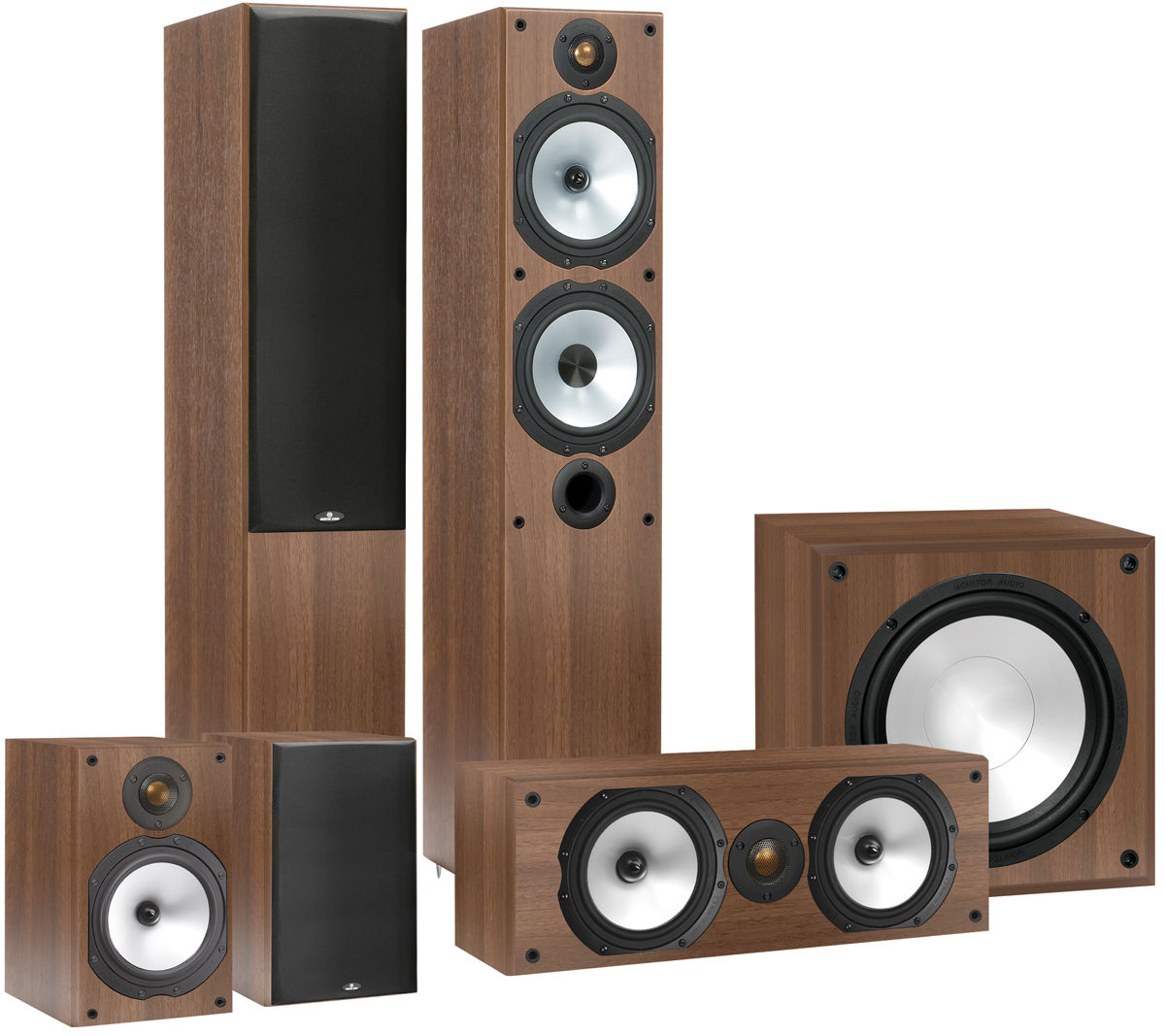 monitor audio mr4 hc 5 1 packs d 39 enceintes son vid. Black Bedroom Furniture Sets. Home Design Ideas