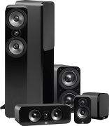 Q Acoustics 3050 5.1 Simili-cuir noir