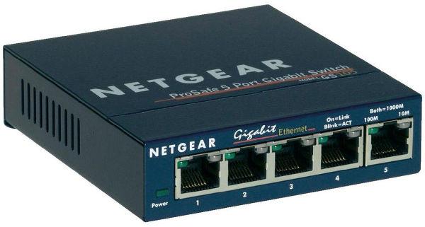 Netgear GS105 Vue principale