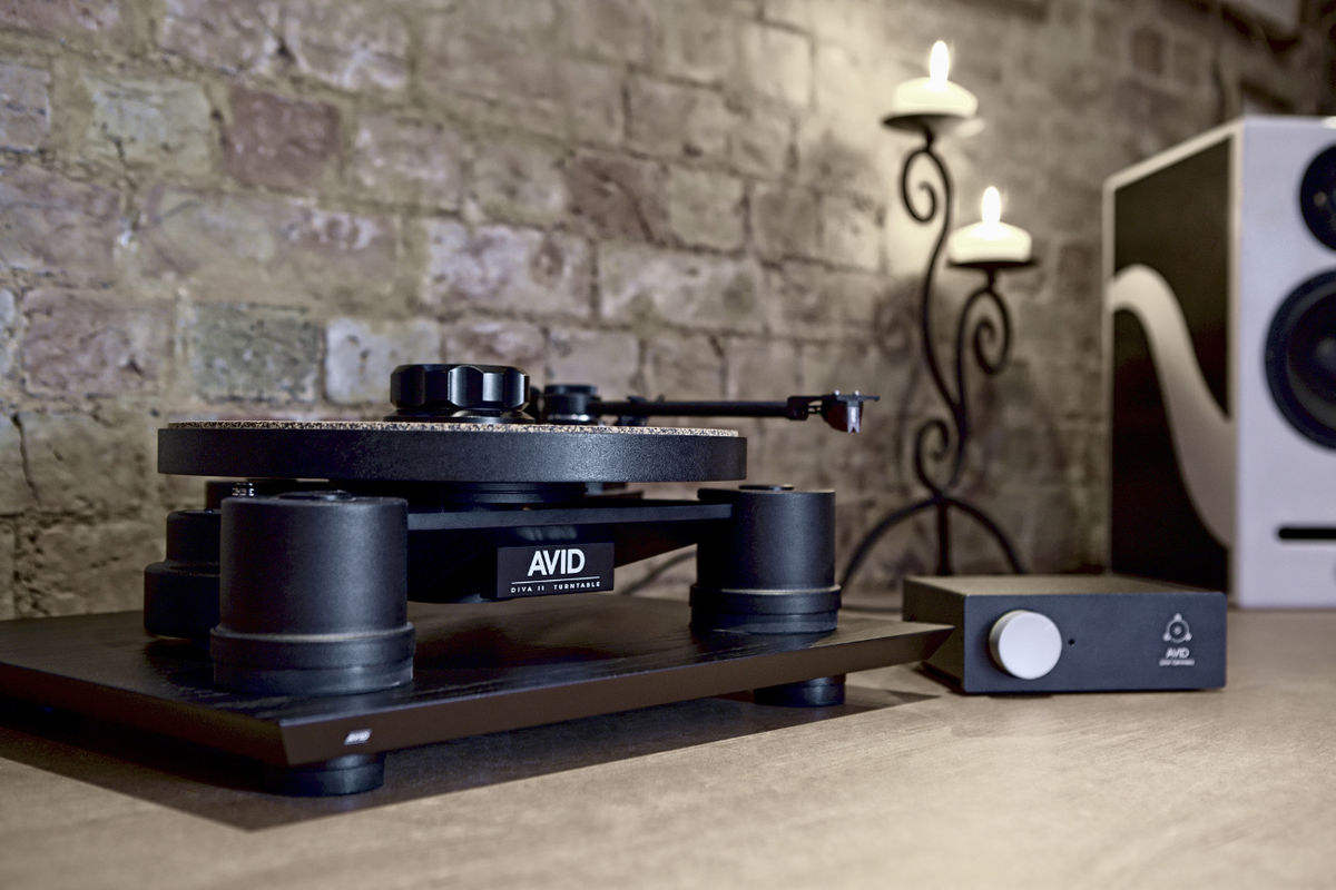 avid diva ii platines vinyle hi fi son vid. Black Bedroom Furniture Sets. Home Design Ideas