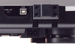 Audio Technica AT-LP120-USB HC Vue arrière