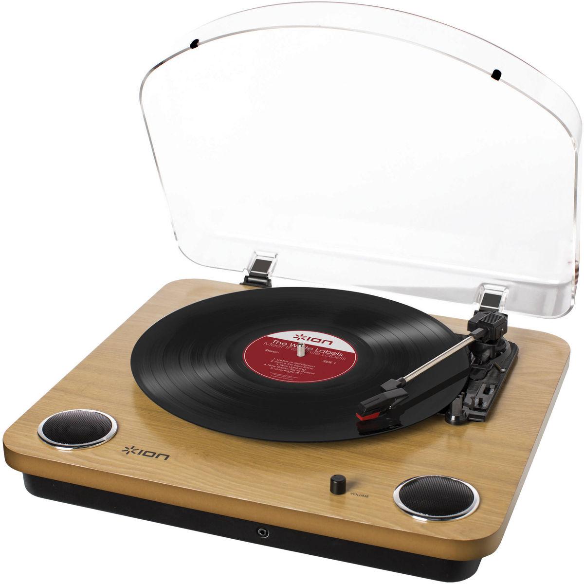 ion max lp platines vinyle usb son vid. Black Bedroom Furniture Sets. Home Design Ideas
