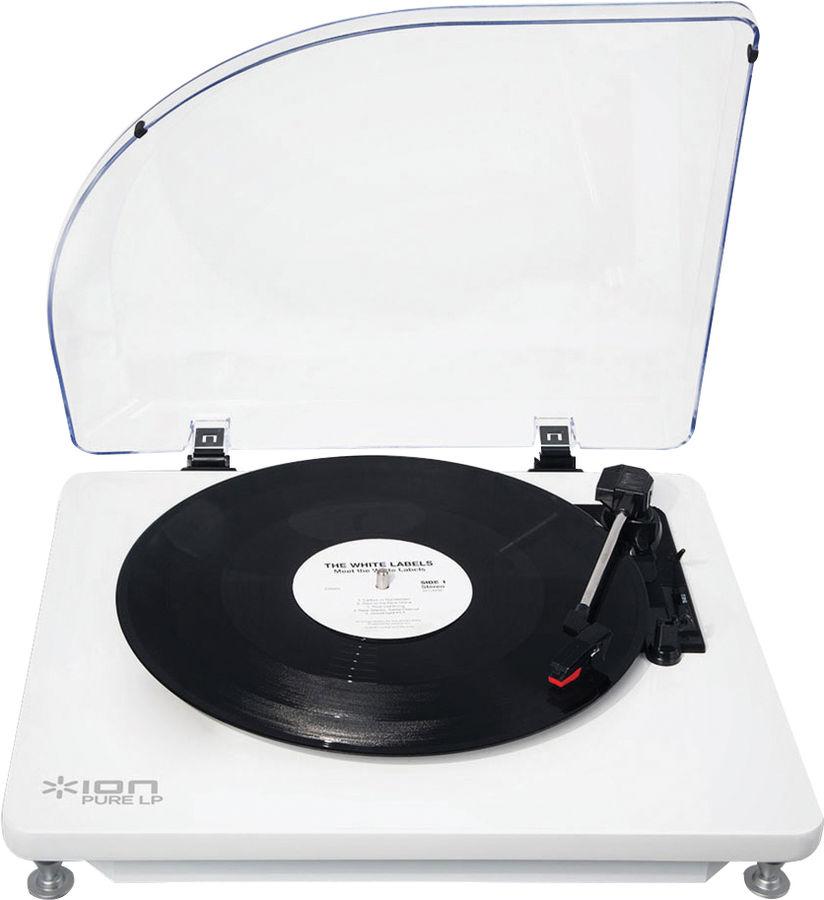 ion pure lp platines vinyle usb son vid. Black Bedroom Furniture Sets. Home Design Ideas