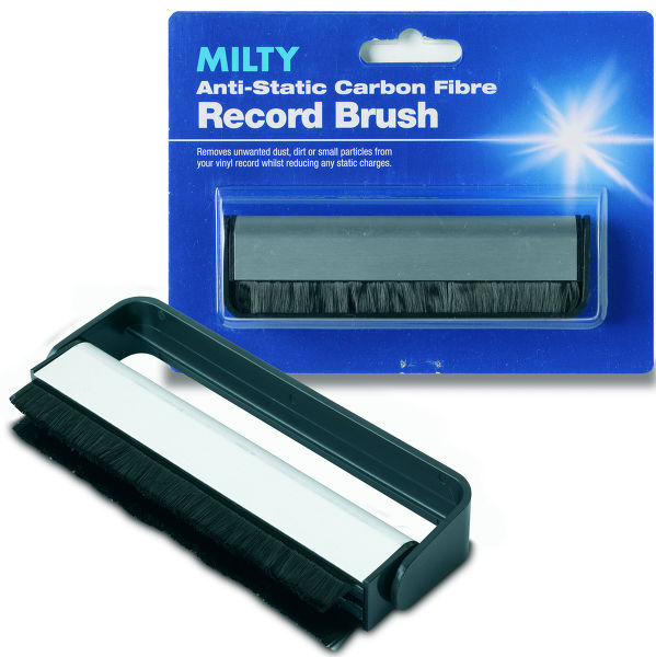 Milty Carbon Fibre Record Brush Vue principale