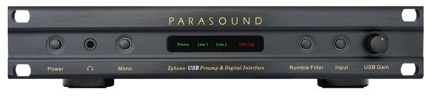 Parasound Zphono USB Vue principale