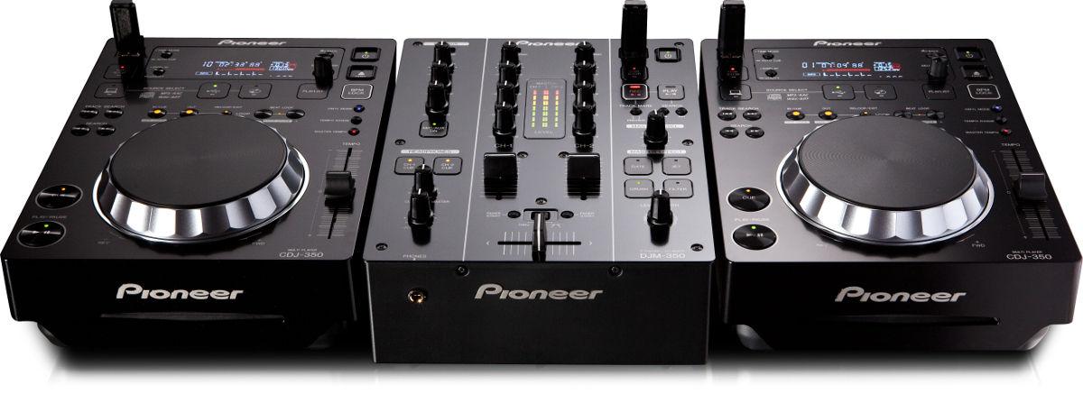 Pioneer cdj 350 lecteurs cd son vid - Mesa dj pioneer ...