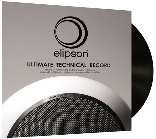 Le disque de test pour platine vinyle Elipson Ultimate Technical Record