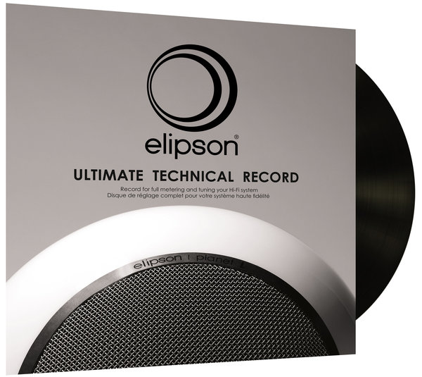 Elipson Ultimate Technical Record Vue principale
