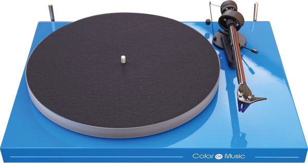 Pro-Ject Debut Carbon Esprit Color of Music Bleu