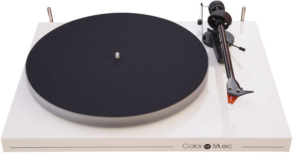 Pro-Ject Debut Carbon Esprit Color of Music Blanc