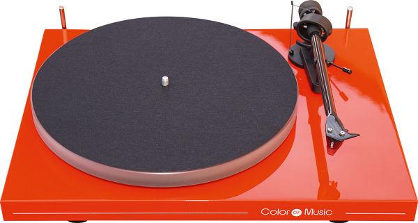 Pro-Ject Debut Carbon Esprit Color of Music Vue principale