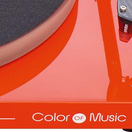 Pro-Ject Debut Carbon Esprit Color of Music Vue de détail 2