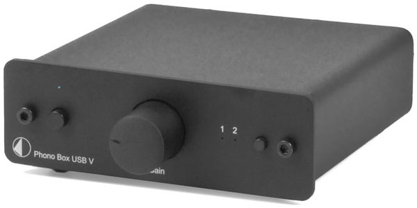 Pro-Ject Phono Box USB V DC Vue principale