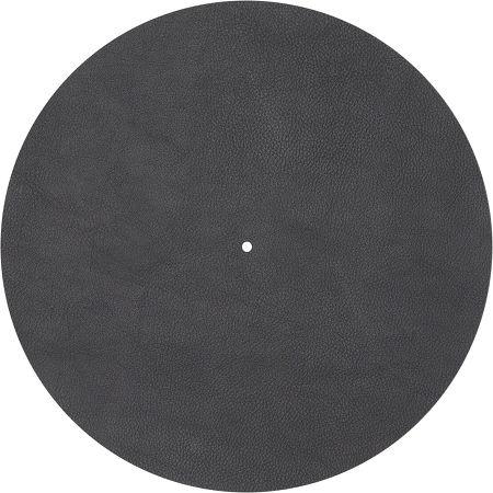 Couvre plateau cuir Noir