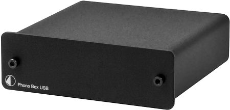 Phono Box USB DC Noir