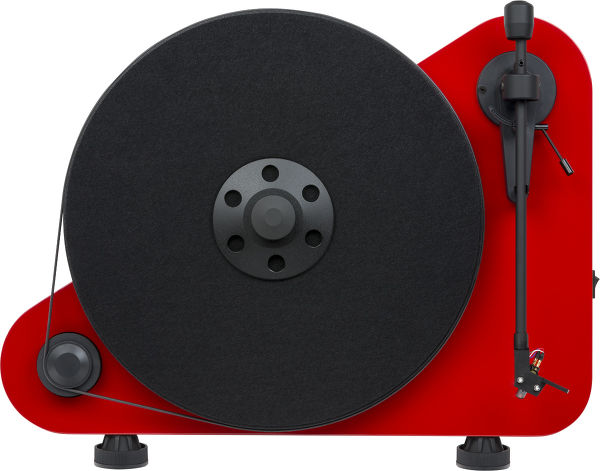 Pro-Ject Vertical Turntable E Bluetooth droitier rouge