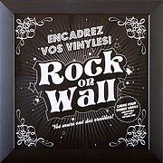 Rock on wall Cadre Noir
