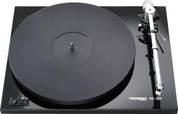 Thorens TD203 Vue principale