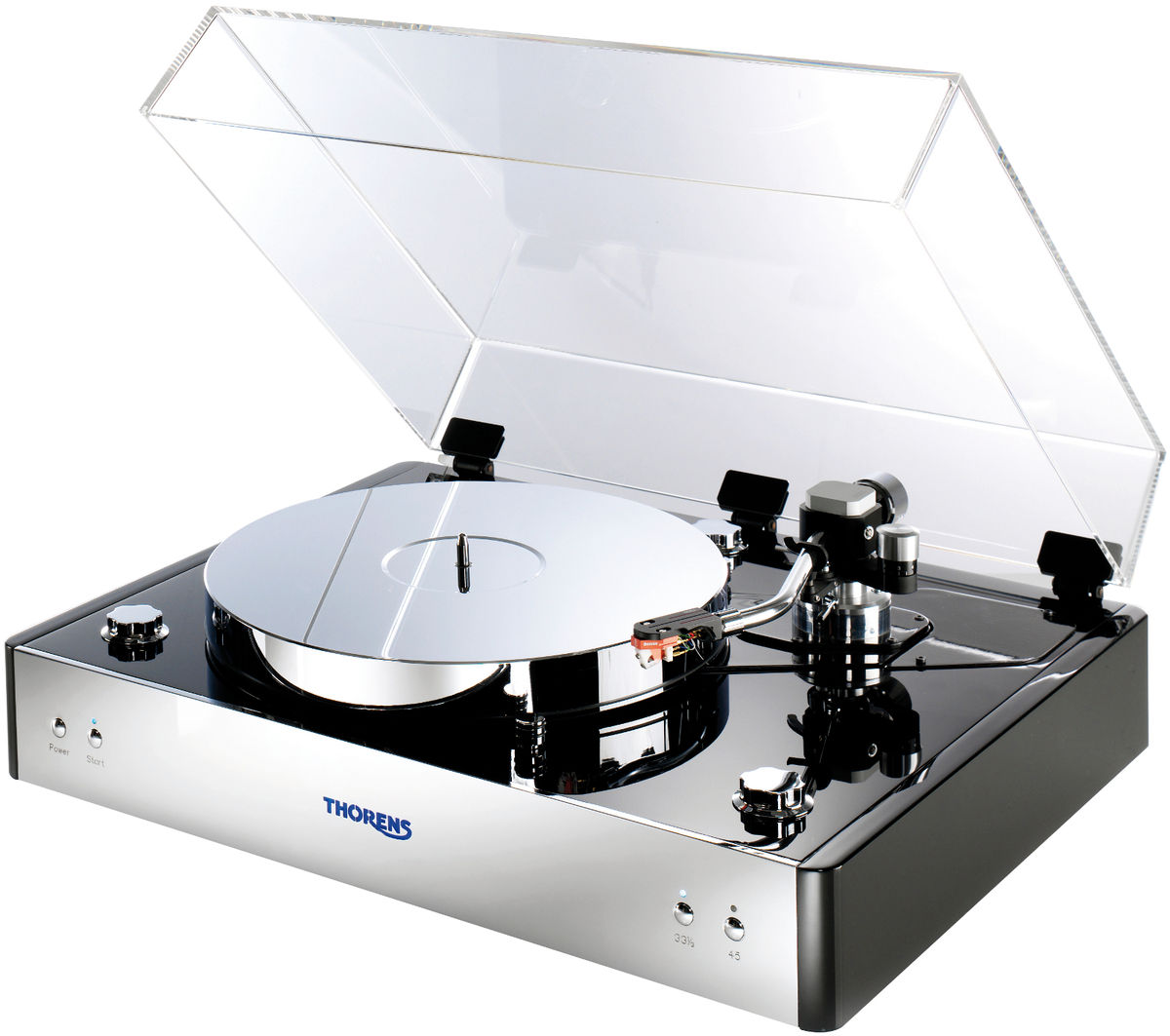 thorens td550 platines vinyle hi fi son vid. Black Bedroom Furniture Sets. Home Design Ideas