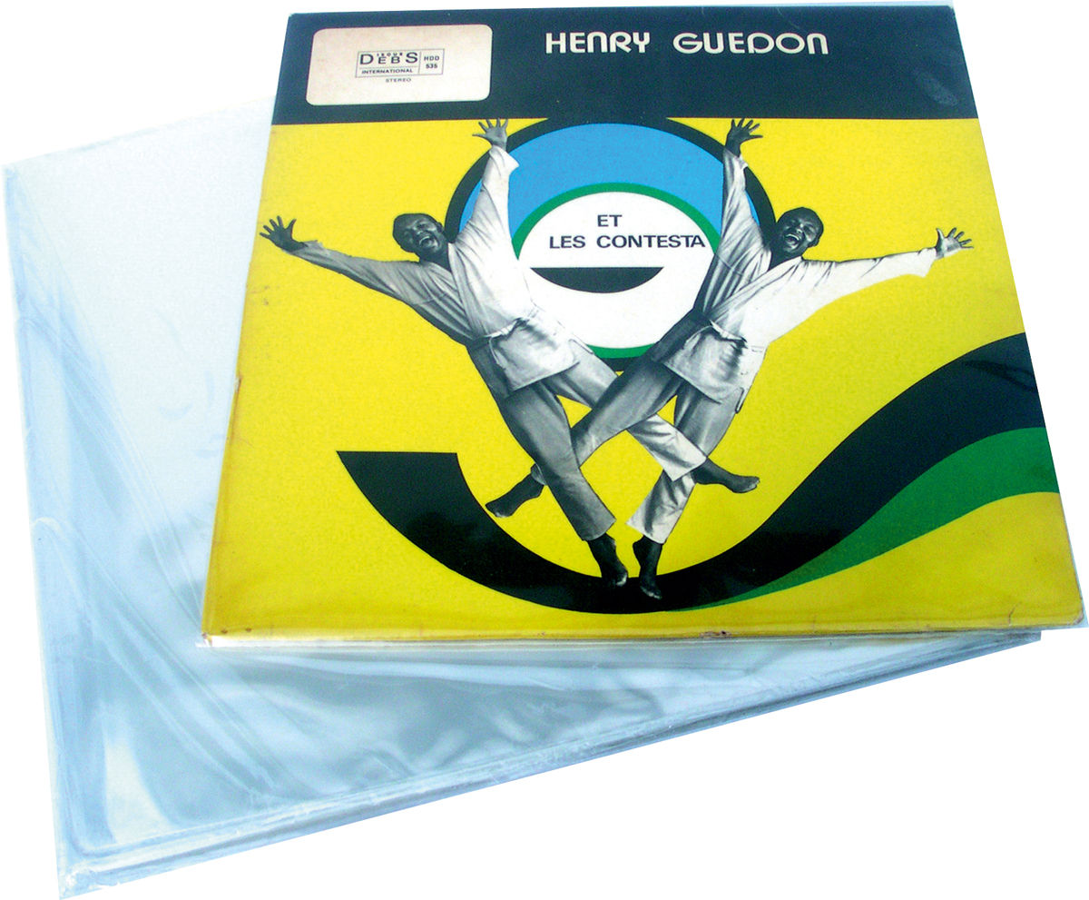 Facmogu Lot de 100 pochettes int/érieures en plastique semi-transparent pour disques vinyles de 17,8 cm d/épaisseur Mat/ériau antistatique de 0,08 mm d/épaisseur