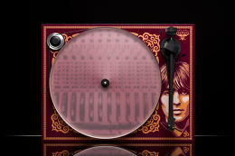 Pro-Ject Essential III George Harrison + The Beatles Abbey Road Vue Dessus