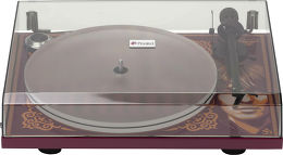 Pro-Ject Essential III George Harrison + The Beatles Abbey Road Mise en situation 2