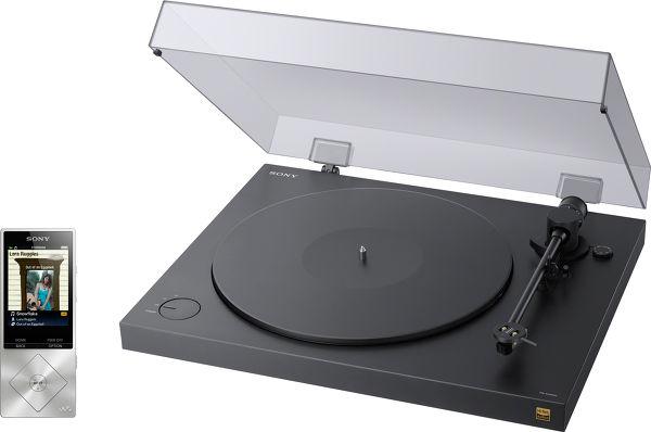 SONY PS-HX500 + NWZ-A15 Vue principale