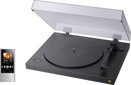 SONY PS-HX500 + NW-ZX100 Vue principale
