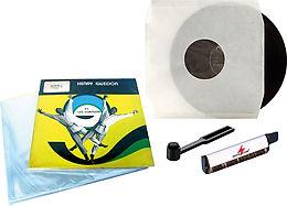 Kit vinyle (pochettes + entretien) Vue principale