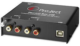 Pro-ject Record Box USB Vue principale