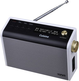 Hdigit cuisine radios de table son vid for Radio de cuisine