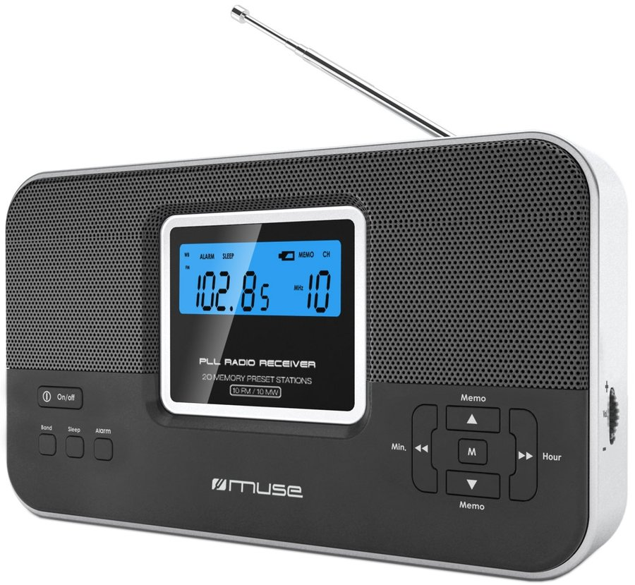 muse m 087r radios portables son vid. Black Bedroom Furniture Sets. Home Design Ideas