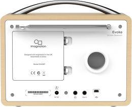 Pure Evoke D4 Bluetooth Vue arrière